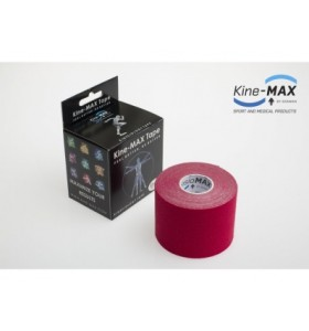 Kine-MAX Tape Classic - Kinesiologický tejp (Červený)